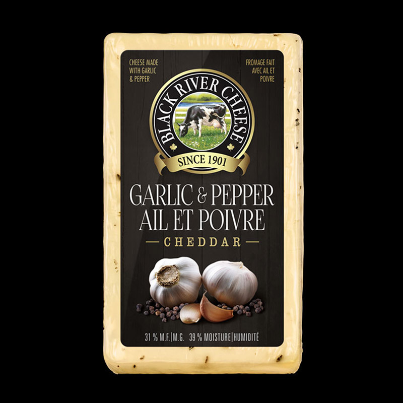 Photo of Black River - Garlic & Pepper Cheddar