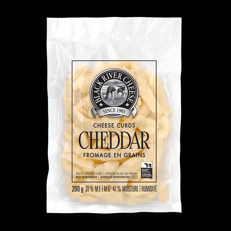 Packed photo of Cheddar Cheese Curds