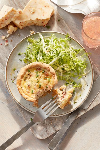 Photo of - Mini Ham and Cheese Quiche