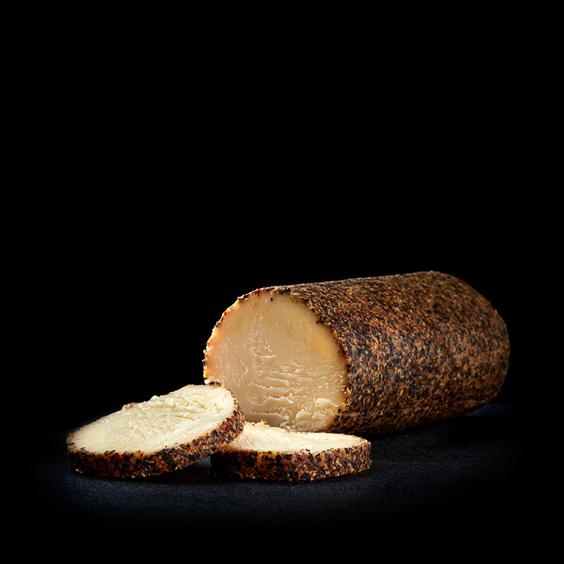 Product image of Maple Cheddar with Cracked Pepper Cheese Log