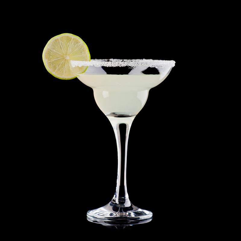 Image of a tequila margarita cocktail